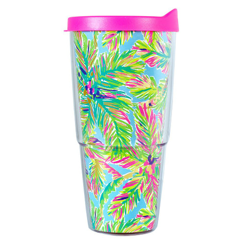 Lilly Pulitzer Insulated Tumbler ~ Island Time