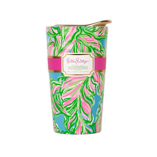Lilly Pulitzer Travel Mug ~  In the Bungalows
