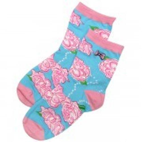 Simply Southern Rose Socks