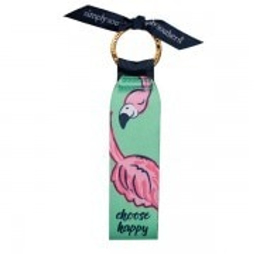 Simply Southern Flamingo Key Fob