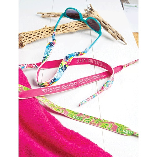 Lilly Pulitzer Sunglass Strap ~I'm So Hooked