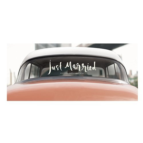 Kate Spade Car Decal ~ Just Married