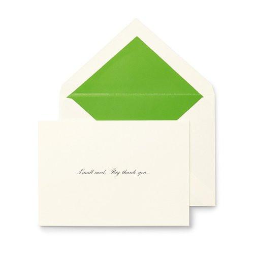 Kate Spade Thank You Notes ~ Small Card, Big Thank You