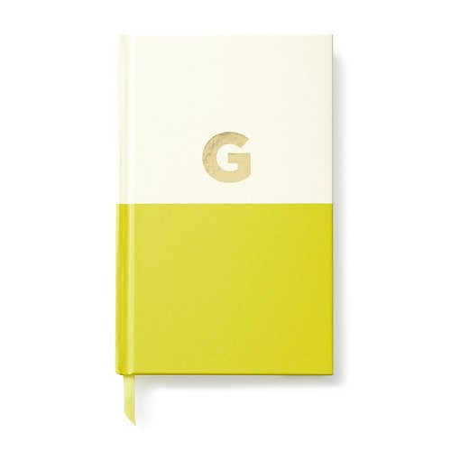 Kate Spade Dipped Initials Notebook ~ G