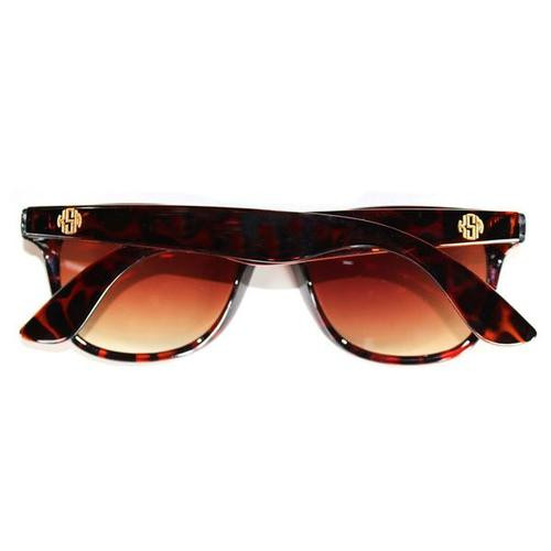 Moon & Lola Monogram Tortoise Sunglasses