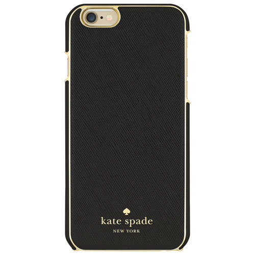 Kate Spade ~ Black w/ Gold Wrap Case for IPhone 6 Plus