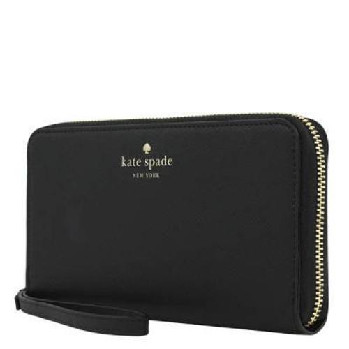 Kate Spade ~ Black Zip Wristlet