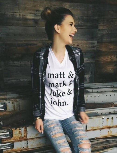 Matt Mark Luke & John