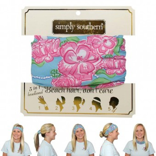 Simply Southern Headband | Roses