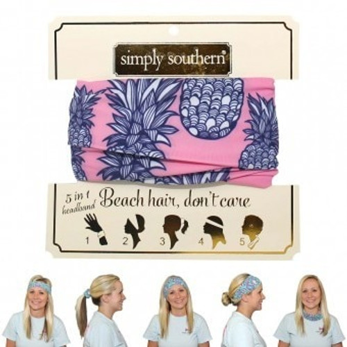 Simply Southern Headband | Pineapple