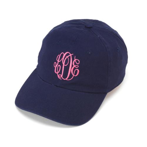 Monogrammed Cap | Navy