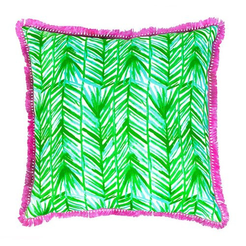 Lilly Pulitzer Large Pillow | Painted Palm