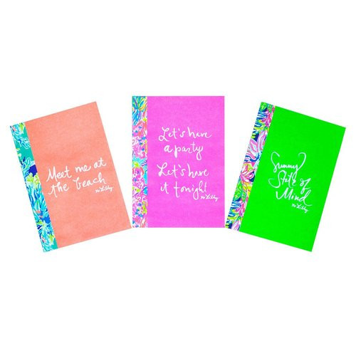 Lilly Pulitzer Notebook Set | Assorted