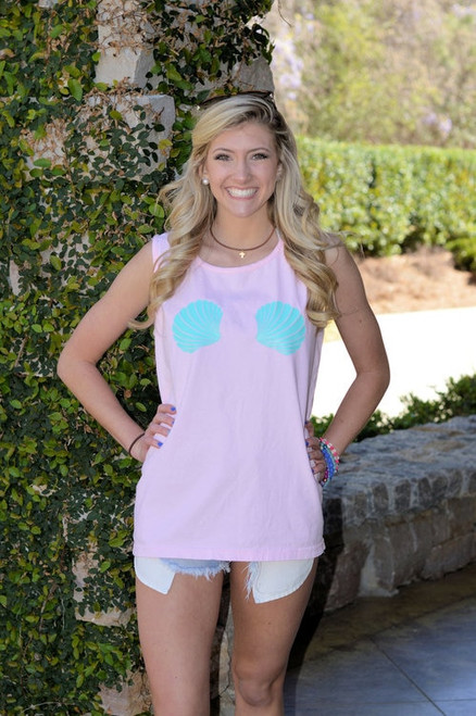Mermaid Blossom Comfort Colors Tank