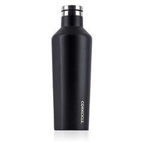 16 oz Black Waterman Corkcicle Canteen