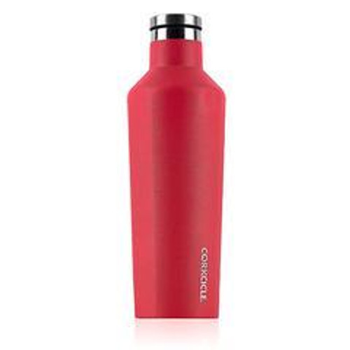16 oz red Waterman Corkcicle Canteen