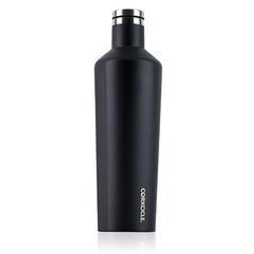 25 oz. Black waterman Corkcicle Canteen