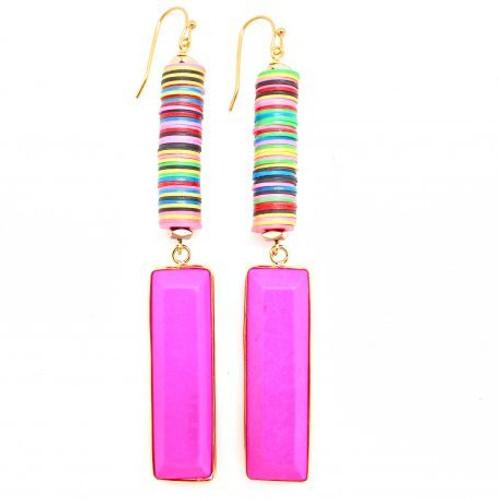 Karli Buxton Hot Pink Bar Drops