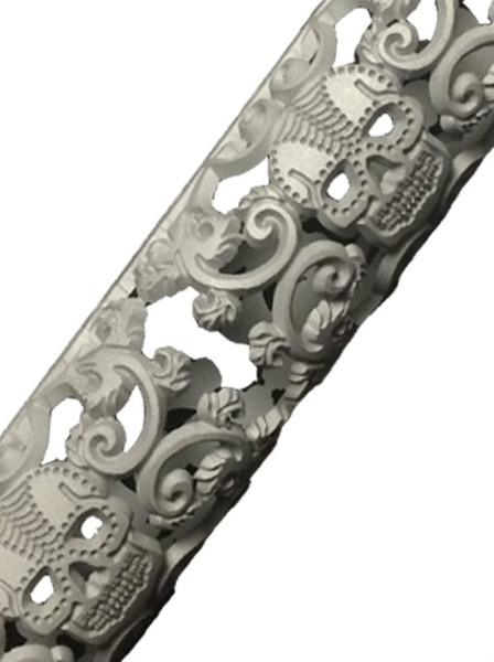 Sugar Skull  hand guard close up