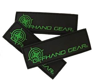 """1"""" x 3"""" OffHand Gear Logo Patch"""