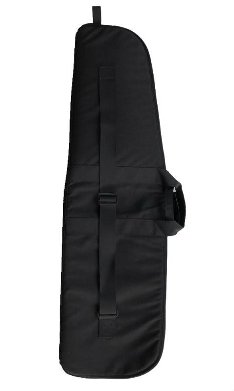 """Black 42"""" Soft Padded Rifle Case Back"""