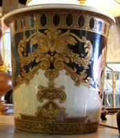 LCP - Ebony Black and Gold Acanthus Versace Style, Customizable