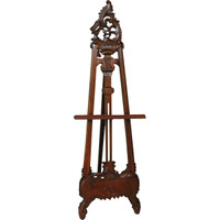 Carved Wood - 66 Inch Rococo Styled Easel