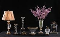 "***Lyvrich | Handmade Crystal with Gilded Dior Ormolu Trim, | 0.0""t X 0.0""L X 0.0""d | 6497"