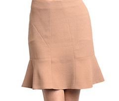 ICED LATTE RUFFLE SKIRT