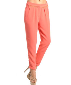 PEACHY KEEN ZIPPER PANTS