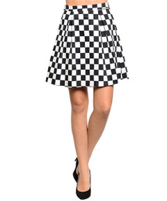 LET'S PLAY CHESS SKIRT
