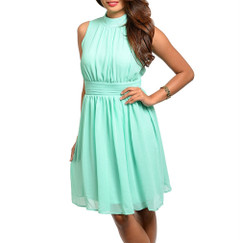 SWEET MINT JULEP DRESS