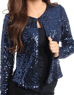STARDUST SEQUIN JACKET