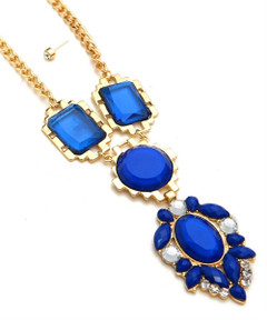 MAJESTIC IN SAPPHIRE NECKLACE