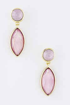 PINK WHISPER EARRINGS