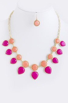FRUIT PUNCH NECKLACE SET