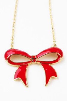 BOW RE MI NECKLACE