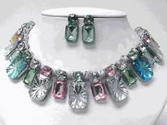 PASTEL PRIMAVERA NECKLACE SET