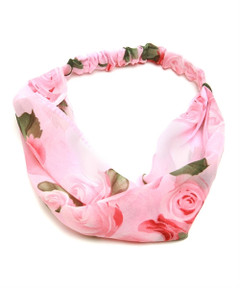 ROSE CHIFFON HAIRBAND