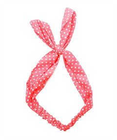 DOTTY TWISTY HAIRBAND