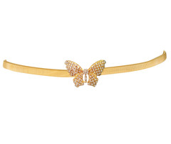 GOLD BUTTERFLY BELT