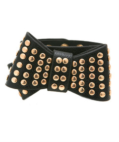 BIKER BABE LEATHER CUFF