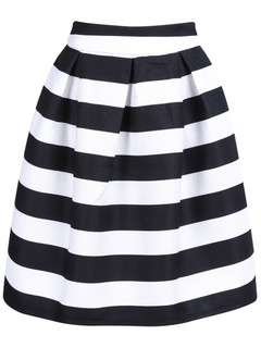 STRIPE A CHORD SKIRT