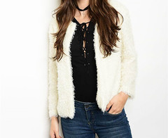 FUR-EVER CREAM SWEATER