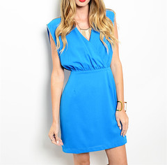 TOTALLY TURQUOISED  DRESS