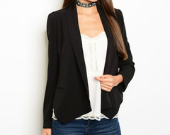 CASUAL CONVERSATION BLAZER