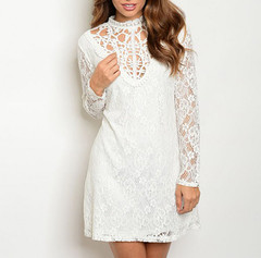 LACE AND CROCHET DRESS