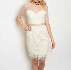 LACED TO PERFECTION DRESS