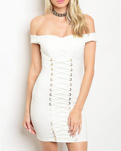BECKONING BOMBSHELL DRESS