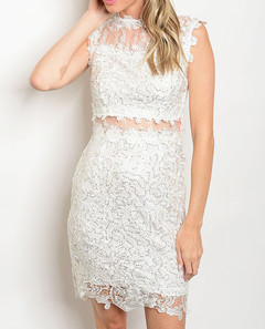 CELESTIAL IN LACE DRESS